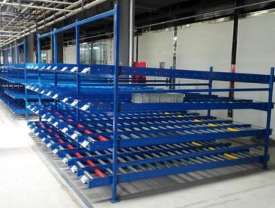 汽车制造企业对于货架的应用