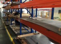 存放重型钢板货架图片