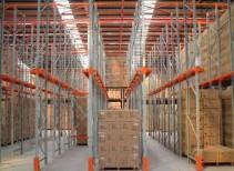 贯通式货架图片_贯通式货架特点及规划要点