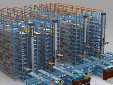 南京货架-自动化立体仓库的系统组成