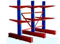 南京悬臂式、悬臂货架、材料架、方管架、铁管架